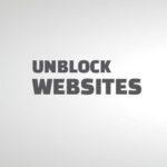 unblock websites on chrome