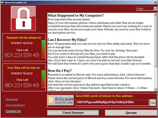 wannacrypt ransomware attack