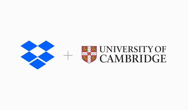 dropbox university of cambridge