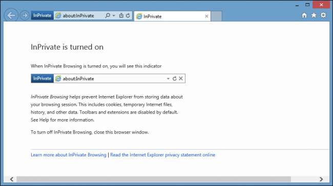 Activate Private Browsing Mode Chrome Firefox Safari Ie Privacyend