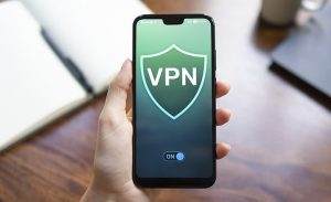 an image of a VPN running on an android device