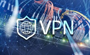 an image of a vpn connected to a server