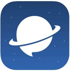 An image featuring the logo of the Chatous chat app