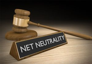 An image featuring legislation that says net neutrality on the bottom of the law and order concept