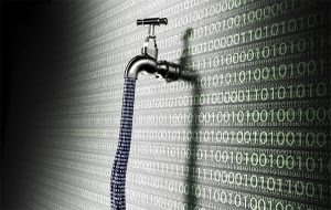An image featuring data leaks concept