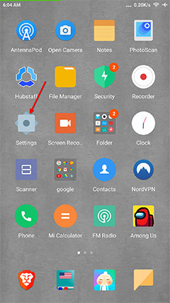 An image featuring how to update your Android device step1