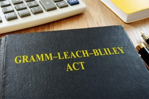 An image featuring the Gramm Leach Billey Act