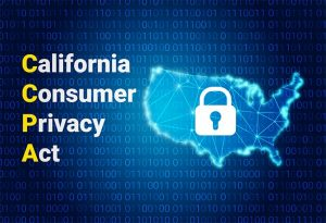 An image featuring the California Consumer Privacy Act concept