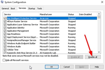 An image featuring fixing Avast VPN problem with running clean boot on Windows step 12
