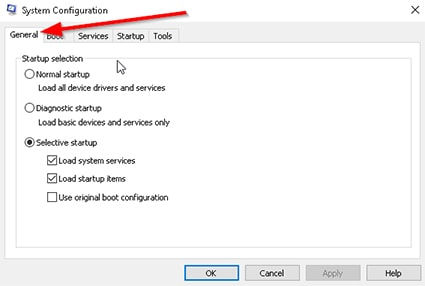 An image featuring fixing Avast VPN problem with running clean boot on Windows step 7