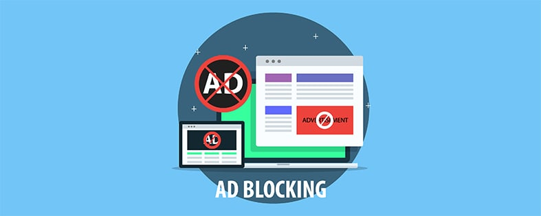 An image featuring an AD blocking concept