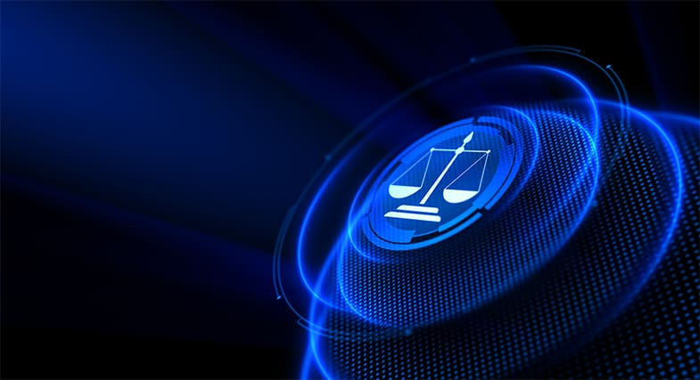 An image featuring online privacy court case concept