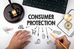 An image featuring consumer privacy concept