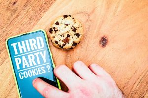An image featuring third party cookies concept