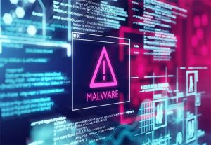 An image featuring malware concept