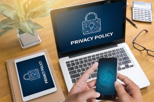 An image featuring privacy policy concept