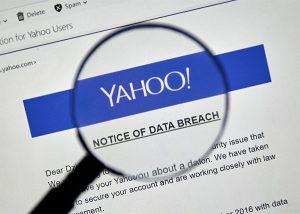 An image featuring Yahoo data breach concept